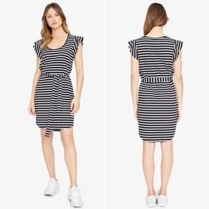Sanctuary Ruby Scoop Striped T-shirt Dress Small